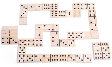 Lauamäng Woodyland Fun Garden Maxi Domino Game 28pcs 91413