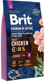 Brit Premium by Nature Junior Small Dog Chicken 8kg