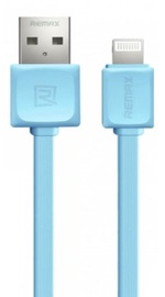 Remax Super Flat Apple Lightning Cable Blue 1m