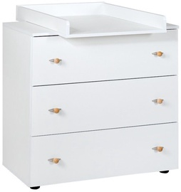 Klups Paula Chest With Drawers White