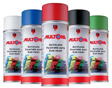 Auto K Multona Car Paint 0395 Red
