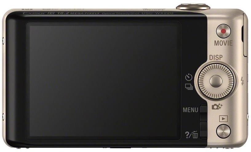 Sony Cyber-Shot DSC-WX220 Gold