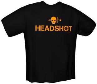 GamersWear Headshot T-Shirt Black M