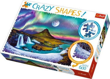 Trefl Crazy Shapes Aurora Over Iceland 600pcs 11114T
