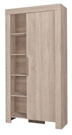 Riidekapp Jurek Meble Cezar Reg 4 Sonoma Oak, 100x42x201 cm