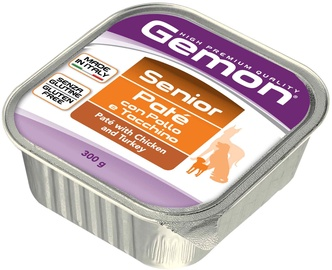 Monge Gemon Senior Paté With Chicken/Turkey 300g