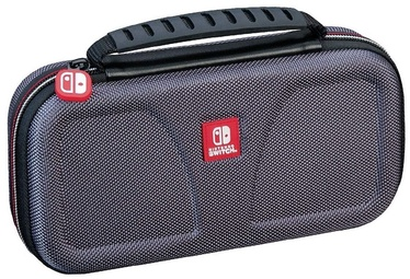 RDS Game Traveler: Deluxe Travel Case Grey Switch Lite