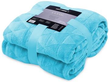 Одеяло DecoKing Clyde Turquoise, 220x240 см