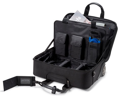 Dicota Top Traveller Roller PRO 14 - 15.6 Notebook And Clothes Case