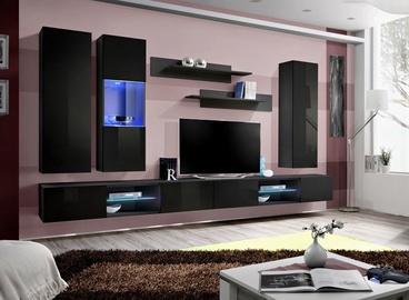 ASM Fly Q5 Living Room Wall Unit Set Black