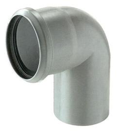 Magnaplast Elbow Pipe Grey 87° 75mm