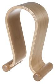 Maclean Wood Headphone Stand Light Oak