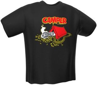 GamersWear Camper T-Shirt Black M