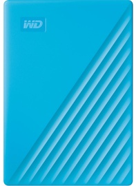"Western Digital 4TB My Passport USB 3.2 2.5"" Blue"