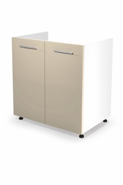 Halmar Kitchen Bottom Cabinet Under The Sink Vento DK-80/82 Beige