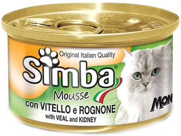 Monge Simba Mousse With Veal & Kidney 85g
