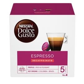 Nescafe Dolce Gusto Espresso Decaffeinato Red 16 Capsules