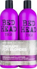TIGI Bed Head Dumb Blonde Shampoo 750ml + Conditioner 750ml