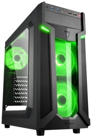 Sharkoon VG6-W Mid-Tower Green