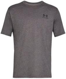Under Armour Mens Sportstyle Left Chest SS Shirt 1326799-019 Grey XXL