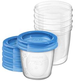 Komplekt Philips Avent Breast Milk Storage Cups 5pcs SCF619/05