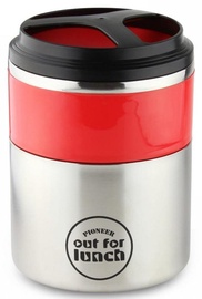 Grunwerg Pioneer Out For Lunch Thermos 1.5l Red