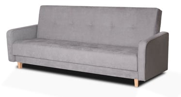 Diivanvoodi Platan Adam Grey, 210 x 85 x 90 cm