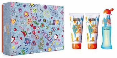 Moschino I Love Love 50ml EDT + 100ml Body Lotion + 100ml Shower Gel