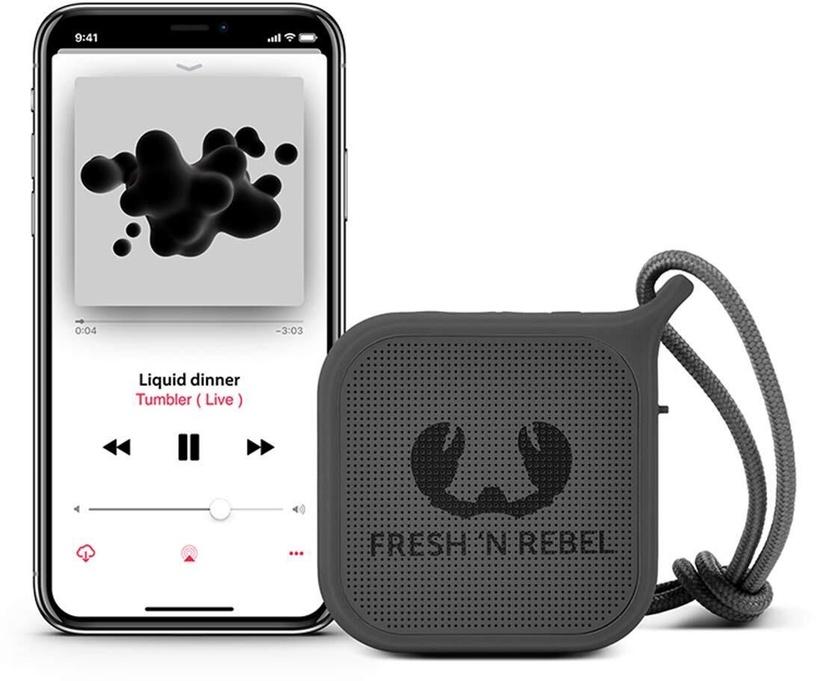 Juhtmevaba kõlar Fresh 'n Rebel Rockbox Pebble Concrete
