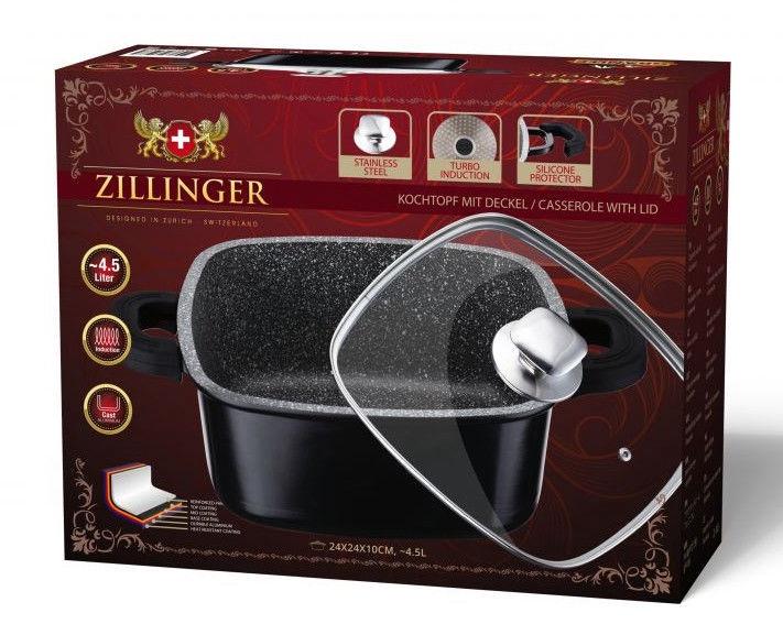 Zillinger Aluminium Oval Casserole D24cm 4.5l