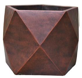 Home4you Flowerpot Cubo-1 D55xH45cm Bronze