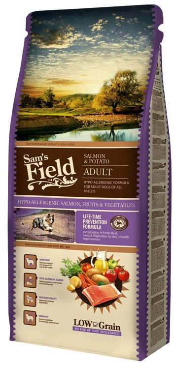 Sam's Field Adult Salmon and Potato 13kg