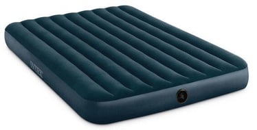 Intex Queen Downy Airbed Midnight Green