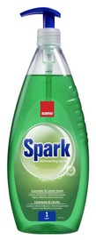 Sano Spark Dishwashing Liquid With Cucumber & Lemon Scent 1l