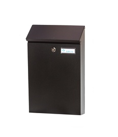 Postkast (PD958; musta värvi) (GLORI IR KO)