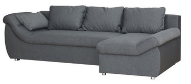 Угловой диван Bodzio Rojal Grey, правый, 258 x 145 x 73 см