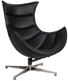 Кресло Home4you Grand Extra Black, 86x84x96 см