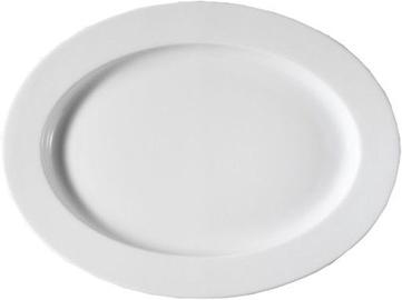 Kutahya Porselen Pera Oval Plate 28cm