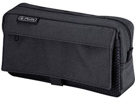 Herlitz Pencil Pouch Black 11415999