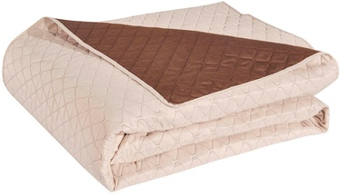 Покрывало DecoKing Axel Cream/Brown, 260x280 см