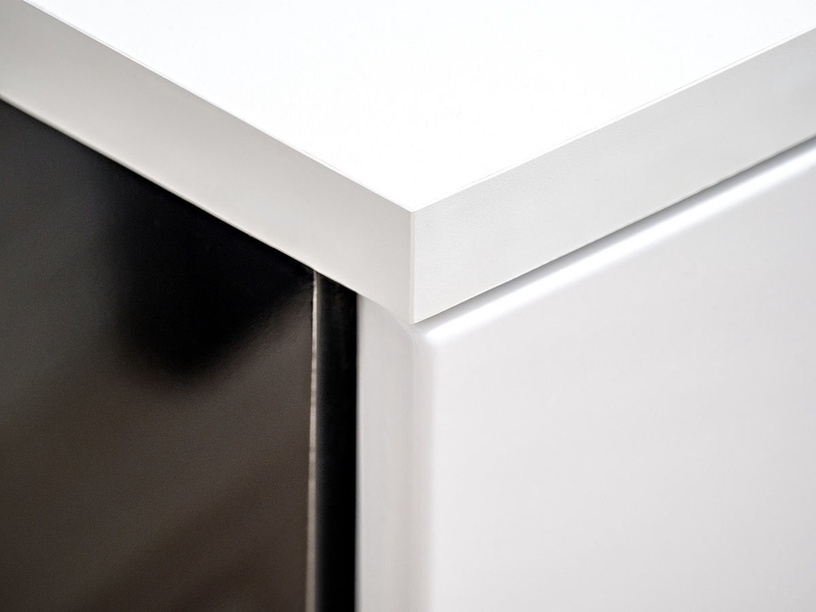 ASM Sonic Living Room Wall Unit Set White/Black