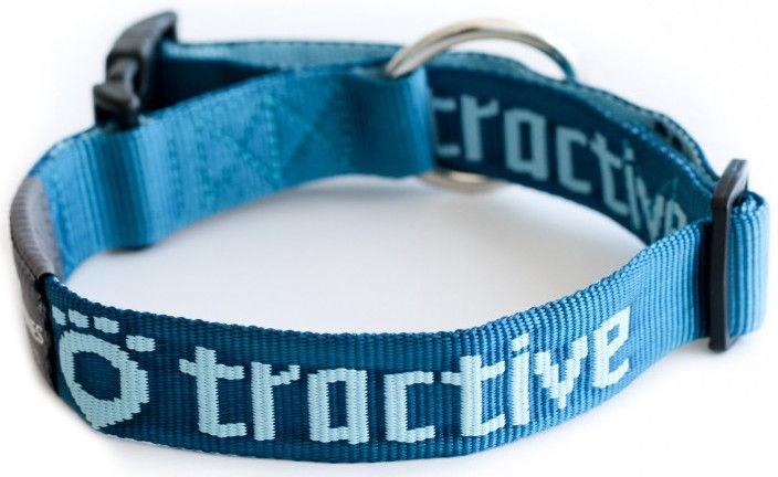 Tractive Pet Collar Large Blue TRACO2