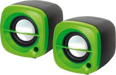 Omega OG15 Desktop Speakers Green
