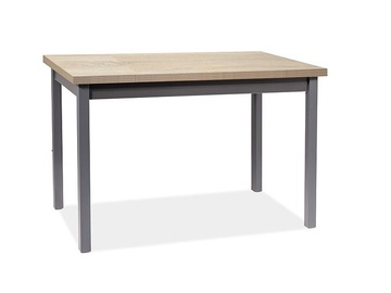 Signal Meble Adam Table 100x60cm Sonoma Oak/Anthracite