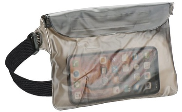 TakeMe Universal Waterproof Waist Bag For Mobile Devices Transparent/Black