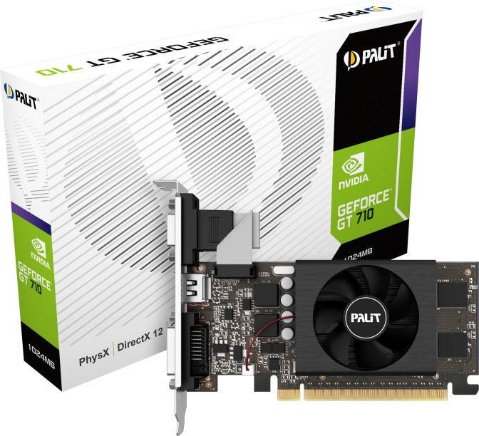 Palit GeForce GT 710 1GB GDDR5 PCIE NE5T7100HD06-2081F