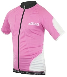 Force Kid Star Jersey Pink White 140-153