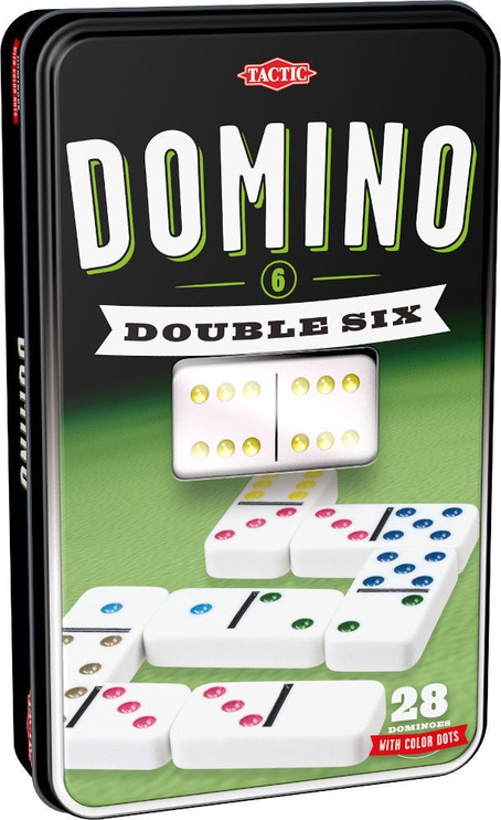 Tactic Double 6 Domino 53913