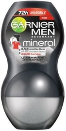 Garnier Mineral Invisible Black White Colours Deo Roll On 50ml