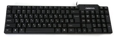 Omega Keybord ENG / RUS Black